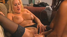 Chelsea and Zana are two fucking sexy lesbians licking and toying