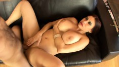 Busty Sheila Marie does anything he wants just to get fucked