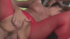 Filthy Julie needs a lot of cocks to satisfy her tight holes