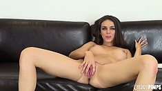 Tiffany Tyler is a really brave girl that does not afraid of sexual challenges