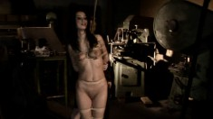 Black Sonja is into BDSM and gets tied up and fucked over by her mistress