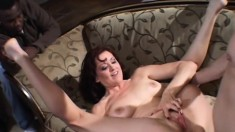 Buxom Redhead Housewife In High Heels Begs For A Hard Anal Drilling