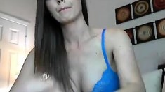 Liliane Tiger Striptease Masturbation