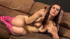 Beautiful Girl Summer Rae Takes A Deep Pounding And Rides The Sybian