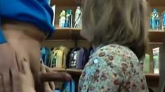 A Num Blonde Have A Hidden Sex In Church Fetish