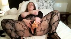 Big toy bbw blond webcam babe masturbate