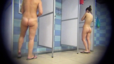 Unique Hidden Cams In A Public Shower