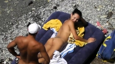 Interracial Outdoor Beach Sex