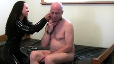 Bdsm Strapon Dominas Femdom Fuck Fetish Subject With Strapon