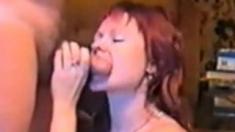 Rimming - Girl Licking Husbands Ass