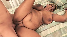Dirty, mature female has been missing young cocks for so long